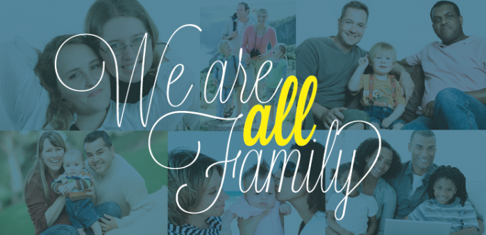We Are all            Family Website Picture